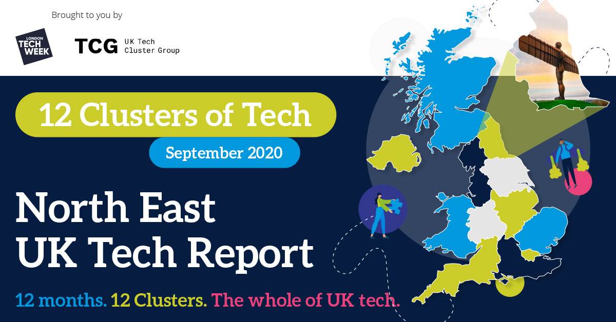 12 Clusters of Tech – the North East